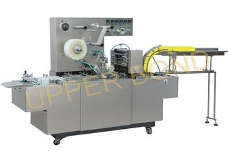 Cina Semi - Automatic Cigarette Packing Machine For BOPP Film And Anti - Fake Tear Tape pemasok