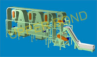 Cina Tobacco Processing Equipment Horizontal Threshing Machine With Variable Frequency Control perusahaan