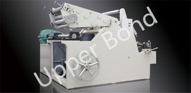 Cina 600mm Automatic Foil Stamping Machine , Tipping / Smoke Cigarette Paper Roll Cutting Machine pabrik